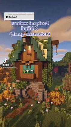 Minecraft Farm, Minecraft Cottage, Easy Minecraft Houses, Minecraft House Tutorials, Minecraft Plans, Minecraft House Designs, Minecraft Decorations, Minecraft Construction, Amazing Minecraft