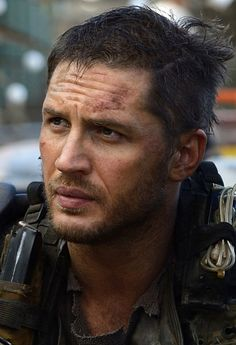 Tom Hardy - how his lips stayed luscious and hydrated in a post apocalyptic world is beyond me but I'm grateful