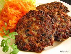 Smaczna Pyza: Kotleciki siekane z pieczarkami - http://smacznapyza.blogspot.com/2012/11/kotleciki-siekane-z-pieczarkami.html