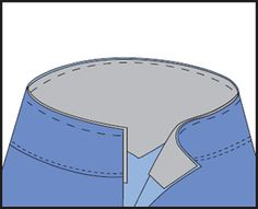 cintura.-   Hilvanar la entretela al revés de la zona de la cintura y por encima de la pieza (si la hay). Confeccionar la prenda. Colocar el cierre.                                 Suplemento Costura - EviaEdiciones.com