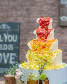 Fruit Birthday Cake, 40th Birthday Cakes, Beautiful Cakes, Amazing Cakes, Fruit Combinations, Wedding Cake Roses, Sweet Box, Big Cakes, Sweets Cake