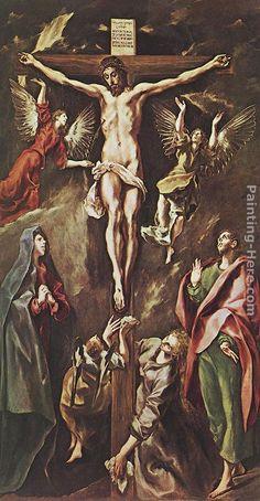 El Greco The Crucifixion