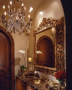 jewel box powder room. Mix with a tin ceiling and it would be awesome.