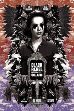 Black Rebel Motorcycle Club - Timothee Gainet - 2014 ----