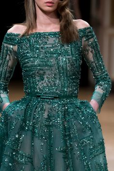 Ziad Nakad at Couture Fall 2016 - Details Runway Photos Beautiful Dresses, Nice Dresses, Girls Dresses, Prom Dresses, Jw Moda, Couture Dresses, Fashion Dresses, Desi Wedding Dresses, Indian Gowns Dresses