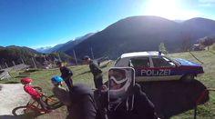 """Virales Video """"Fabio Wibmer auf der Flucht von der Polizei"""""""