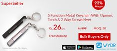 Multi functions Key-chain on #WYDR App