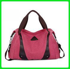 YouNuo Vintage Canvas Shoulder Bag Tote Bag Hobo Shopper Duffel Bag - Hobo bags (*Amazon Partner-Link)