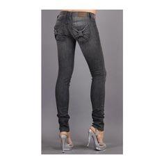 Bow Pocket Jeans