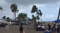 Three children injured when waterspout tosses bounce house.