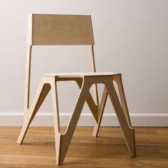 Bone Chair by Julien de Smedt Architects