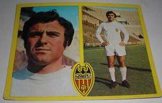 CROMOS DE FUTBOL SERGIO LLORET VALENCIA CLUB(SIN PEGAR)LIGA ESTE 1972-1973/72 73