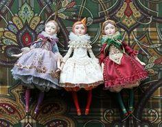 Как все же здорово, что все они будут на одной елке!❄ . #елочныеигрушки #скороновыйгод #авторскаякукла #праздник #подарок #новыйгод #рождество #doll #artdoll #treeornaments #newyearcomingsoon #happynewyear #dollmaker #holiday