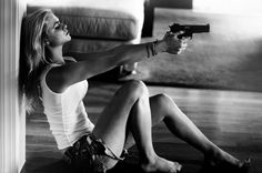 """""""I am angry and heavily intoxicated"""" As if to prove her point a hiccup shook her body. """"But I will shoot you and you of all people know I'm a damn good shot."""" (©Mary Tessmann)"""