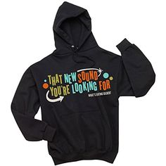 What's Eating Gilbert Men's That New Sound You're Looking For Hooded Sweatshirt Black - http://bandshirts.org/product/whats-eating-gilbert-mens-that-new-sound-youre-looking-for-hooded-sweatshirt-black/