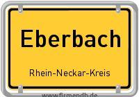 Ortsschild von Eberbach
