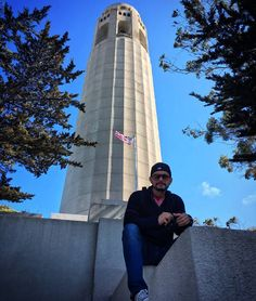 Unas de las partes mas altas de #SanFrancisco   #coittower #usa #traveling #top #caminando #walking #california #turismo #igers by guille_marketing