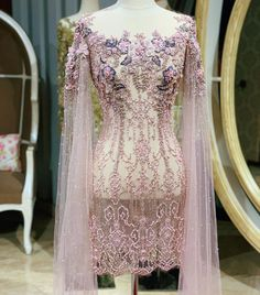 Model Kebaya Brokat Modern, Kebaya Modern Hijab, Kebaya Hijab, Kebaya Dress, Batik Kebaya, Kebaya Muslim, Hijab Dress Party, Party Gowns, Kimono Fashion
