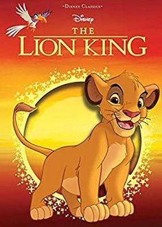 """Share a classic adventure story with your little one with the Disney """"The Lion King"""" Hardcover Book. Beautifully illustrated on every page, this timeless book is sure to become a favorite read for your little one. Comedy Animation Movies, Simba E Nala, Animated Cartoon Movies, Pride Rock, Le Roi Lion, Christmas Books, Disney Cartoons, Book Characters, Feature Film"""