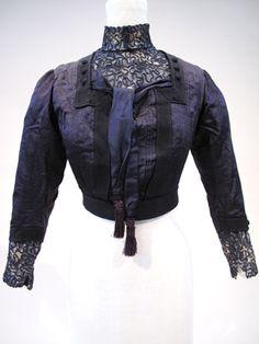 Silk Edwardian Bodice - pattern include