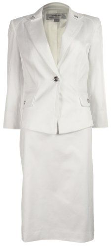 Tahari Women's Wendi Vintage Vibe Skirt Suit (8, White) Tahari http://www.amazon.com/dp/B00K2BHDZ2/ref=cm_sw_r_pi_dp_3ew6ub0992RA9