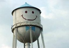 Grand Forks, North Dakota. I miss smiley the water tower!!!
