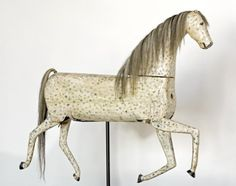C1875 Articulated horse.