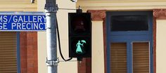 Mary Poppins-themed crosswalk lights are a real thing!