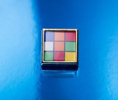 1980's style Rubik's Cube Square Tie/Lapel by UnofficiallyOriginal