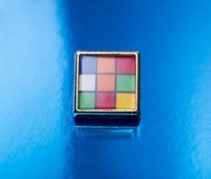 1980's style Rubik's Cube Square Tie/Lapel by UnofficiallyOriginal
