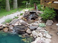 This Pin was discovered by Robert Tracy. Discover (and save!) your own Pins on Pinterest. | See more about garden ponds, backyard ponds and garden water.