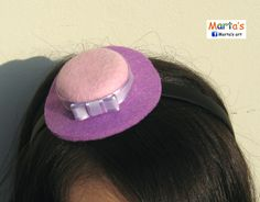 felt headband for a lady girl (with Nadja S)