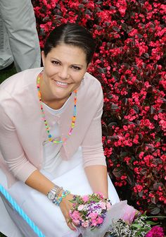 Crown princess Victoria of Sweden celebrates her 37th birthday 2014. July 14th/
