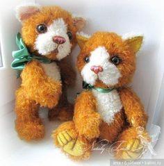 Выкройка игрушки, котенок от Наталья Толстыкиной