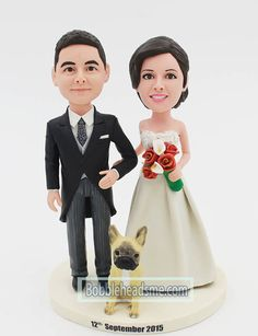 000acab4451 Custom Bobbleheads Wedding Custom Wedding Cake Toppers