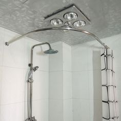 Degree Curved Shower Curtain Rod Bathroom Pinterest