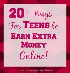 Ways for Teens to Earn Money Online
