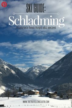 Austria is well known for its rich culture and history, the alps, Mozart and winter sports. Do you know about Austria& best-kept ski secret - Schladming? European Road Trip, European Vacation, European Travel, Euro Travel, Travel Tips For Europe, Europe Destinations, Places To Travel, Austria Travel, Winter Travel