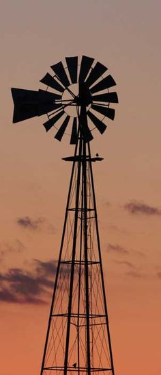 My dream is have a windmill outside my home :)