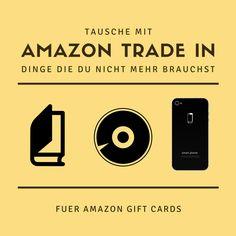 Amazon Trade in - Tausche auf Amazon Buecher, Spiele usw. gegen Gift Cards   USA billig aber gut leben Manchmal muss man einfach ausmisten! Manchmal fällt es uns schwer uns von Sachen zu trennen. Aber was wenn du etwas das du nicht mehr brauchst und nur noch als Staubfänger fungiert, gegen etwas eintauschen kannst das du brauchst oder möchtest? Amazon bietet dir diese Möglichkeit.