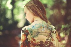 portrait photography by Charles Hildreth | tattoo
