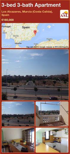 3-bed 3-bath Apartment in Los Alcazares, Murcia (Costa Calida), Spain ►€160,000 #PropertyForSaleInSpain