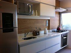 cozinha  pequena linda! modern kitchen ,