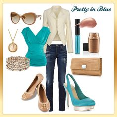 Pretty in Blue, created by VNelson