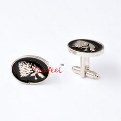 Wholesale Movie Jewelry Game Of Thrones Symbol House Stark Wolf Head Cufflink French Men Shirt Brand Cuff Buttons Cuff Links  //Price: $US $20.00 & FREE Shipping //     #gameofthrones #gameofthronestour #gameofthronesfamily  #starks #got #agot #asoiaf