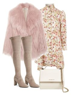 """""""Untitled #5337"""" by theeuropeancloset on Polyvore featuring Topshop, Miu Miu, Stuart Weitzman and Givenchy"""