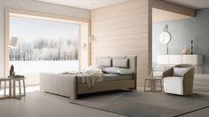 J&M Furniture Evergreen Premium Fabric Queen Size Platform Bed Queen Size Platform Bed, Best Platform Beds, Chula Vista, California King Platform Bed, Art Nouveau, Garden Route, Bed Lights, Modern Bedroom, Modern Beds
