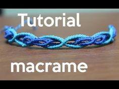 pulsera de hilos doble tutorial macrame | friendship bracelet - YouTube
