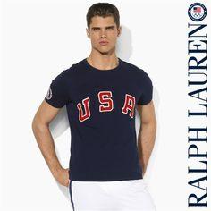 Mens Ralph Lauren USA T-Shirt