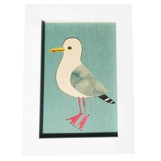 Herring Gull Wooden Print